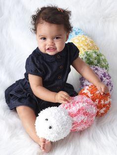 Caterpillar Crochet Toy  [ Free Crochet Pattern ]