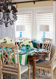 House of Turquoise: Table Setting