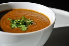 Curry coconut lentil soup!