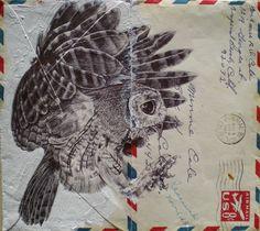 Mark Powell, envelope art