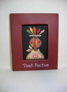 Whimsical Thanksgiving Turkey Tole Painted by barbsheartstrokes, .