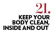 101 Ways To Be Healthy from Revolutionary Acts. Join the movement and be inspired to be the healthiest version of you. clean diet, 10 day cleanse