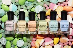 deborah lippmann, pastels, pretti pastel, nail polish, pastel pretti, makeup, deborahlippmannnailpolish, beauti, pastel polish