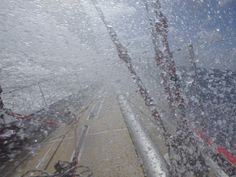 Race 4, Day 13: Mother Nature puts on epic display for crew as winds exceed 100 knots