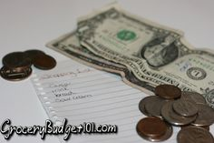 Grocery budget blog