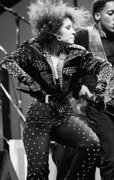 Selena Quintanilla Perez singing at the Tejano Music Awards during 1990