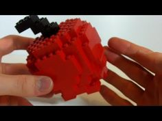 How To Build a LEGO apple