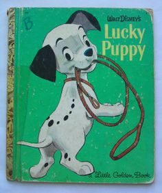 Lucky Puppy Vintage Little Golden Book by Jane by TheVintageRead, $4.95