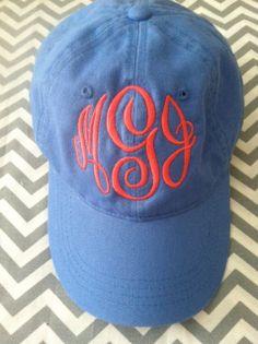 Sale Sale Sale...Monogram hat by ThePreppyPineappleSC on Etsy