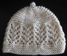 Gull Lace Baby Hat