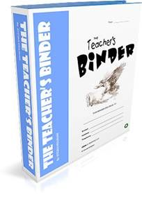 TEACHER's BINDER is a 256-page collection of printable and interactive classroom forms and worksheets that help teachers simplify work, personal organization, record keeping, and improve classroom management. This PDF resource can be downloaded immediately. See more information and free samples at the site.