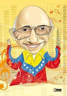 José Antonio Abreu. Fundador y director del Sistema de Orquestas y Coros Juveniles e Infantiles de Venezuela