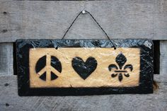 Peace, Love  Who Dat!