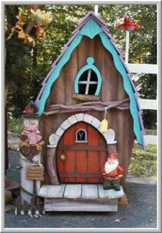Whimsical playhouse