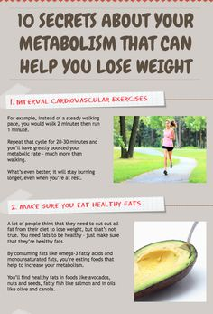 Secrets about your metabolism that can help you lose weight