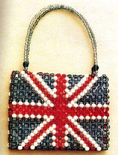 zak met de vlag van Engeland