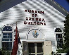 Museum of Ojibwa Culture, St. Ignace, Upper Peninsula Michigan
