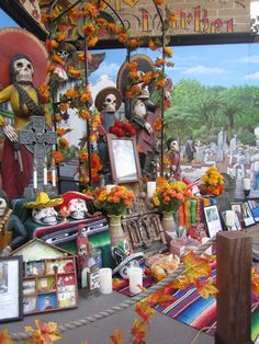 Day of the Dead Altar - Old Town, San Diego 2012