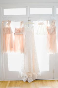 love blush bridesmaid dresses