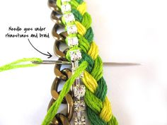 Tutorial - DIY: Friendship Bracelets | The Average Girls Guide.