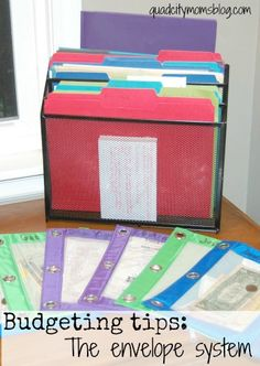Living on a budget - some practical tips for budgeting on the envelope system. From quadcitymomsblog.com