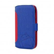Capa Moto G Cruzerlite - Bugdroid Circuit Intelligent Wallet Blue Red  19,99 €