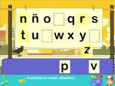 Spanish Alphabet online games