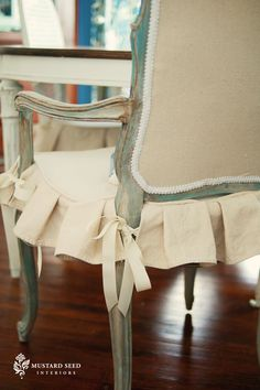 Best of MMS – French Chair Makeover & Tutorial