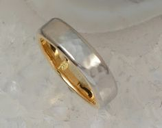 Is it bad form to want a new wedding band for my husband? This is the most amazing band I've seen