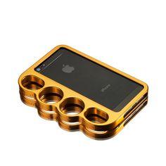 Knucklecase iPhone 5 Gold
