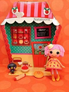 Mini Lalaloopsy Cherry Crisp Crust by Nataloons, via Flickr