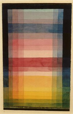 Paul Klee color study.