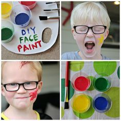 Easy Face Paint Recipe