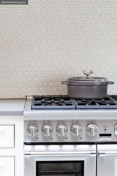 Love the backsplash tile.