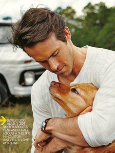 Ryan Reynolds (and his dog).
