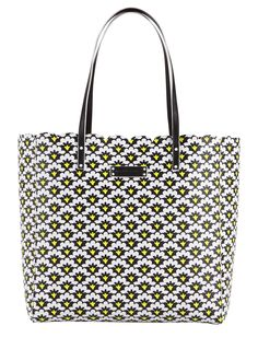 Scalloped Tote in Fanfare Fans, $88 | Vera Bradley