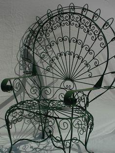 1970s Peacock Chair