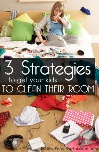 How can I get my kids to clean their rooms?