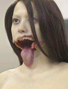 coca cola, cats, face makeup, freaki horror, macabr, freaki flotsam, freaki makeup, halloween, creepi crap