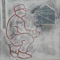 """Closer,"" original figurative painting by artist Martin Webb (USA)  available at Saatchi Art #SaatchiArt."