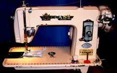 With a whole lot of love, this great machine is running fast and strong, and it's ready to sew just about any home project you want to throw at it.