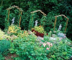 art repeat, repeat arbor, arbors, beauti garden, trellis