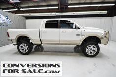 2013 Ram 2500 Diesel Laramie Longhorn Lifted Truck