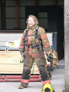 That moment when you realize that firefighting is even better than you imagined!