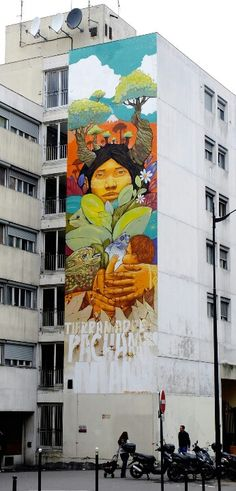 Paris 13 - rue de patay - street art