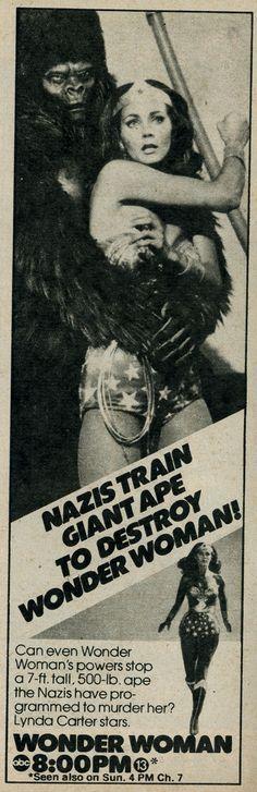 Nazi Ape vs. Wonder Woman