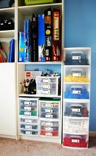 LEGO printable labels for storage drawers