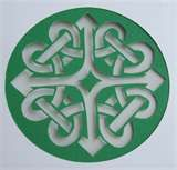 Celtic design at connect in
