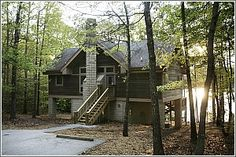 Cabins And Villas On Pinterest