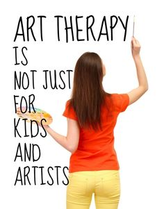 Pass on the word: Anyone can use art therapy!